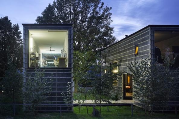 Česká cena za architekturu 2016 - Hlavní cena: Projekt Zen-Houses (Foto: Filip Šlapal)