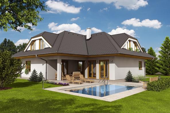 Typový rodinný dům FORTUNA (HOFFMANN)