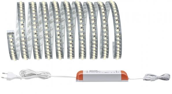 Základní sada bílých izolovaných pásků MaxLED 1000 je dlouhá 3 metry aje nezbytnou součástí každé bezpečně osvětlené zahrady (PAULMANN)