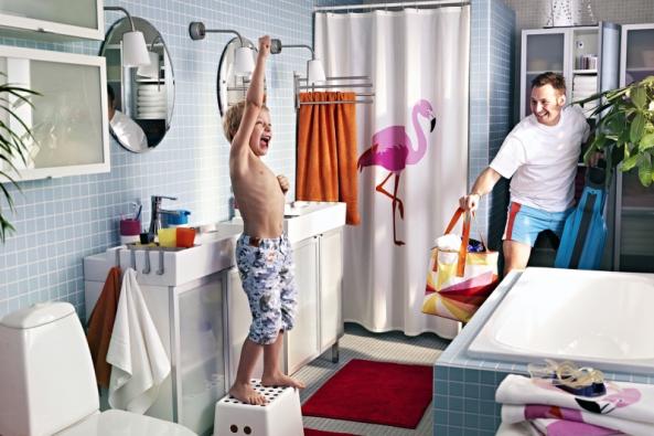 Život je barevný, proč by tomu mělo být v koupelně jinak?