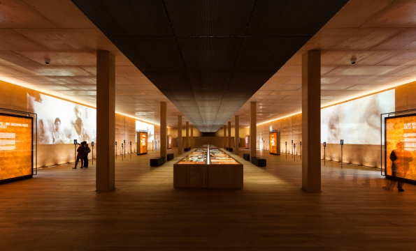 Rivesaltes Memorial Museum, Rivesaltes/Ribesaltes, FR – Muzeum a památník Rivesaltes / Rudy Ricciotti, Bandol (© Photo: Kevin Dolmaire)