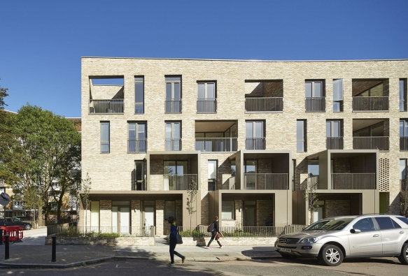 Ely Court, London, UK – Residenční projekt Ely Court v Londýně / Alison Brooks Architects, London (© Photo: Paul Riddle)