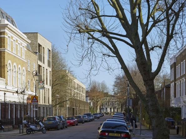 Ely Court, London, UK – Residenční projekt Ely Court v Londýně / Alison Brooks Architects, London (© Photo: Paul Riddle)