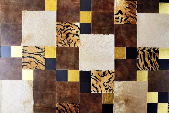 Máte rádi kůži? VeŠpanělsku umí navrhnout detaily, potáhnout nábytek, ale icelé stěny včetně stropu.  (Soffitti Pelli)