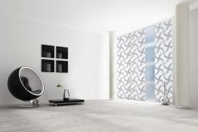 Japonská posuvná stěna se skládá z kvalitních textilních panelů zavěšených vhorním pojezdovém profilu. Používá se kzastínění oken či celé stěny sokenním otvorem. Je určena kestínění až 16 m2  plochy (CLIMAX)