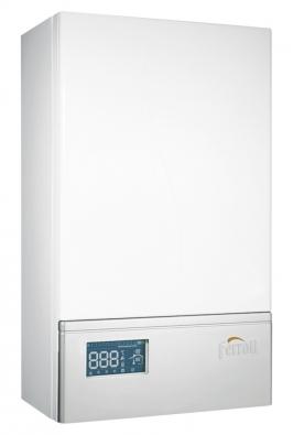 Vysoce účinný závěsný elektrokotel LEB  sohřevem vody vexterním zásobníku pracuje nezávisle natopném systému (ENBRA)
