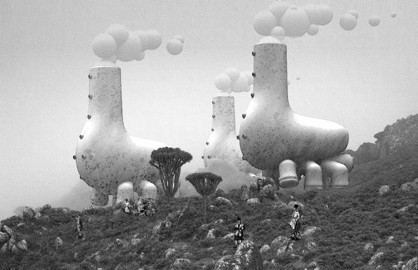 Fairy Tales 2017: 2. cenu získal Terrence Hector, který vystudovat architekturu na Universitě v Illinois v americkém Chicagu. (1) (Zdroj: Blankspaceproject.com)