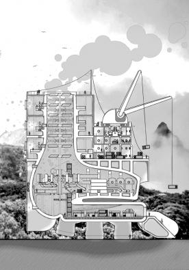 Fairy Tales 2017: 2. cenu získal Terrence Hector, který vystudovat architekturu na Universitě v Illinois v americkém Chicagu. (3) (Zdroj: Blankspaceproject.com)