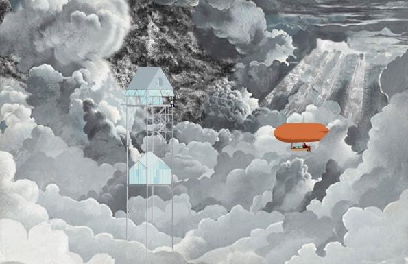 """Fairy Tales 2017: 3. cena byla udělena francouzským architektům Ariane Merle d'Aubigné a Jeanu Maleyrat za projekt s názvem """"Up Above"""" (2) (Zdroj: Blankspaceproject.com)"""