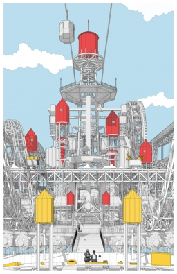 Fairy Tales 2017, čestné uznání: Aamazonia Pier: Manufacturing an Architecture of Pleasure, autor: Julien Nolin (Zdroj: Blankspaceproject.com)