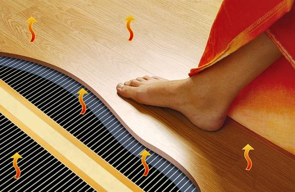 Topné fólie Ecofilm F jsou určeny jako podlahové vytápění dosuchých konstrukcí – pod plovoucí podlahy nebo spoužitím doplňkových podložek HEAT-PAK pod PVC akoberce (FENIX)