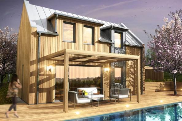 Po krásném, moderním a pohodlném bydlení toužíme každý. Není však pravidlem, že bychom každý věděl i o existenci jednoduchého řešení – nízkoenergetických dřevostaveb na klíč. (Zdroj: HK-DŘESTAV)