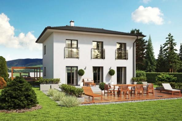 Keramický beton je díky svým izolačním vlastnostem skvělý pro energeticky úsporné stavby. Když k výhodám materiálu přidáte i výhody stavebnicové technologie vznikne ideální základ pro nízkoenergetické a pasivní domy. Díky velkoplošným dílcům s minimem správně ošetřených spojů bude zajištěna dostatečná neprůvzdušnost obálky. A s patřičnou izolací a moderními technologiemi splní tyto domy snadno přísná kritéria na měrnou spotřebu tepla. (Zdroj: Dumjednimtahem.cz)
