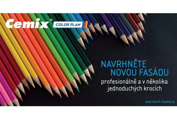 Společnost LB Cemix se dlouhodobě řadí mezi přední české dodavatele fasádních systémů, omítek a barev. Aktuálně to potvrzuje i novou jedinečnou online aplikací  Cemix COLOR PLAN, která zákazníkům umožňuje navrhovat barevné řešení fasády domu. Každý si tak může vyzkoušet roli  architekta a vytvořit exteriér domu, o jakém snil.