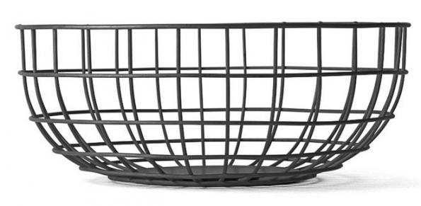 6. Drátěná mísa Wire Bowl, Ø 25cm, vyrábí Menu, www.designville.cz