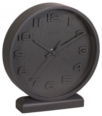 8. Dřevěné hodiny Wood Wood, 20 x 22 x 5 cm, www.okay.cz