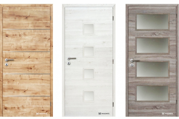 Jihlavský producent MASONITE CZ s tradicí výroby již od roku 1960 uvádí na trh interiérové dveře v nových horizontálních dekorech s povrchem Laminát SPECIAL (kontinuálně lisovaný laminát). Nové horizontální dekory jsou v provedení – borovice finská, dub přírodní a bardolino.