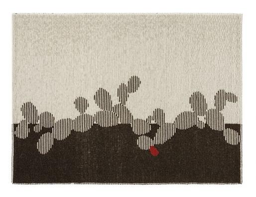 Designérka Mariantonia Urru ze Sardinie  kombinuje čistě přírodní materiály s moderním designem a různými, tisíce let starými místními technikami tkaní. Na ukázku jsme vybrali koberec Cactus, více na mariantoniaurru.com (1)