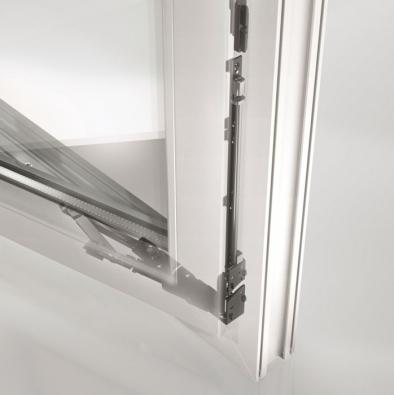 Okenní kování Schüco Variotec NI pro plastová okna