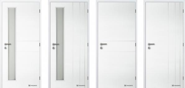 Měsícem červnem nás provedou tři soutěžní otázky a na konci tohoto trojboje bude jeden šťastný majitel sady 5 nových plných interiérových dveří. Můžete znásobit svou šanci tím, že 3 x správně zodpovíte soutěžní otázku.  O co se soutěží? Výherce si může vybrat ze dvou dekorů plných profilovaných bílých dveří (v případě zájmu o prosklení bude výherce kompenzovat finanční rozdíl mezi plnou a prosklenou verzí dveří). Oba dekory jsou novinkou letošního roku – dveře ANGLET nebo dveře BORDEAUX.