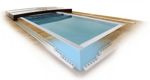 Inovativní bazény ALBISTONE G2 QBIG 8mm jsou vyráběny vdesignovém hranatém provedení, které se nyní dle světových čísel opět stávají trendem. Spojují jedinečné vlastnosti materiálu ALBISTONE® 8mm apolystyrenového ztraceného bednění POLYSTYRAN® 12cm aspolu sminimalistickým designem uspokojí itoho nejnáročnějšího zákazníka. Bazény vám nabízí také úsporu stavebních nákladů až 70% azkrácení času stavby o50%. (Albixon.cz, Bazeny.cz)
