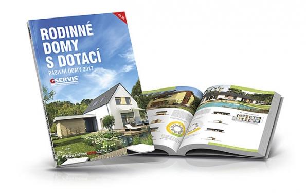 Publikace Rodinné domy s dotací – pasivní domy 2017 je největší katalog typových rodinných domů v pasivním energetickém standardu.