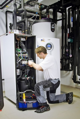 Nepodceňujte pravidelnou roční servisní prohlídku tepelného čerpadla. Při té příležitosti se nechte odtechnika poučit, jak čerpadlo správně čistit (VESKOM)
