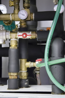 Připojení tepelného čerpadla