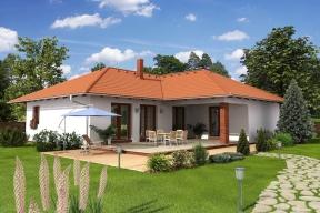 Typový rodinný dům IRIDA (HOFFMANN)