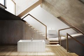 Nová kolekce BetteLoft Ornament zvysoce kvalitní titanové oceli sunikátním 3D dekorem povýší sanitární vybavení naarchitektonický skvost vinteriéru. Viz www.koupelny-waterloo.cz
