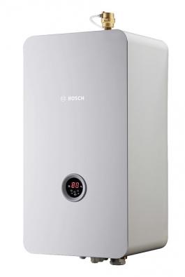 Nástěnné teplovodní elektrokotle Bosch Tronic Heat 3500 jsou určeny pro vytápění. Pomocí připojovacího setu lze kotel rozšířit olibovolný externí zásobník teplé vody (BOSCH)