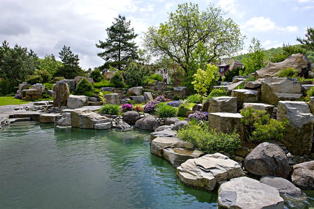 Zahrada: Dokonalá iluze horské přírody