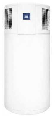 Interiérový bojler Tatramat TEC 220 oobjemu 220 litrů stepelným čerpadlem. Při odebírání tepla může být využito odpadního tepla zchladniček, praček, sušiček atd. (TATRAMAT)