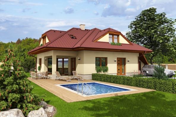 Typový rodinný dům ARGUS (Hoffmann)