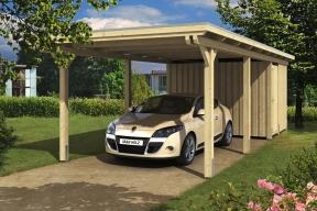 Přístřešek pro auto je spolehlivým řešením ochrany auta před nepříznivým počasím i UV zářením, které dlouhodobě poškozuje jeho povrch. Jeho stavba je rychlá, snadná a poměrně levná. Pusťte se směle do realizace, s našim návodem to zvládnete i bez odborné pomoci. (HORNBACH)