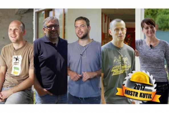 Do finále výzvy Mistr Kutil 2017 se dostalo pět kutilů se svými projekty, mezi kterými najdeme – rekonstrukci dílny, stavbu víceúrovňové terasy, rekonstrukci bytu, přestavbu garáže na motorkářský showroom a výstavbu zahradního domku.