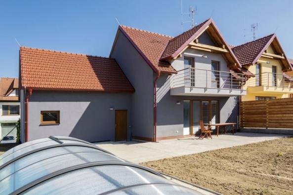 Rodinný dům postavený z tvárnic Ytong (XELLA)