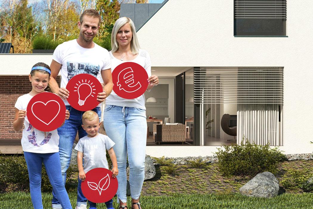 Haló, haló, hledá se rodina pro první dům z projektu e4!