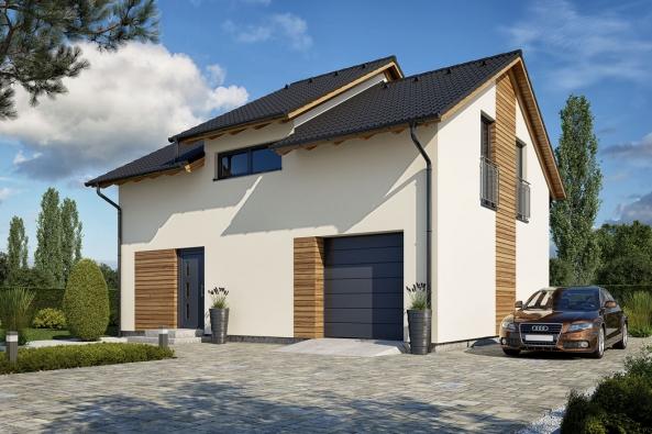 Typový dům Skywood společnosti Haas Fertigbau, který překvapí prostorností a nabídne pohodlí pro celou rodinu.