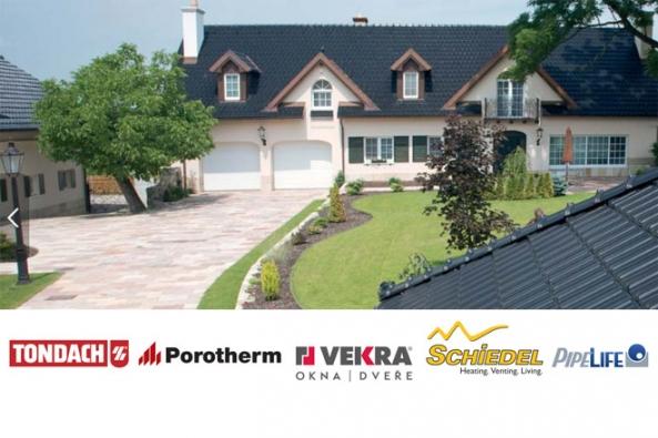 Využijte poslední možnost, jak nakoupit stavební materiál (zdicí materiál, pálené střešní tašky, komínový systém, potrubí, okna a dveře) se slevou ve výši až 50 %!