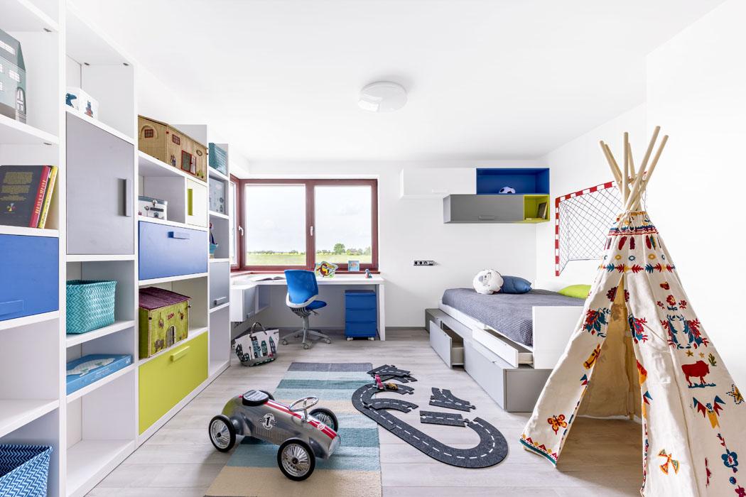 3 dětské pokoje - pro princeznu, fotbalistu a kreslířku