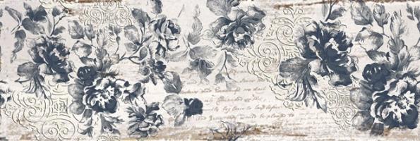 Obklady ze série Textile, dekor Flowers, 20 x 50cm, Gorenje, www.keramikasoukup.cz