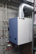 EcoCute je označení TČ pro přípravu teplé vody s přírodním chladivem. Technologie umožňuje ohřev vody na teplotu až 90°C s velmi vysokým topným faktorem (SANDEN)