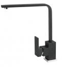 Černý granitový povrch má baterie Edge vysoká 30 cm sramínkem dlouhým 22 cm, www.novaservis.cz