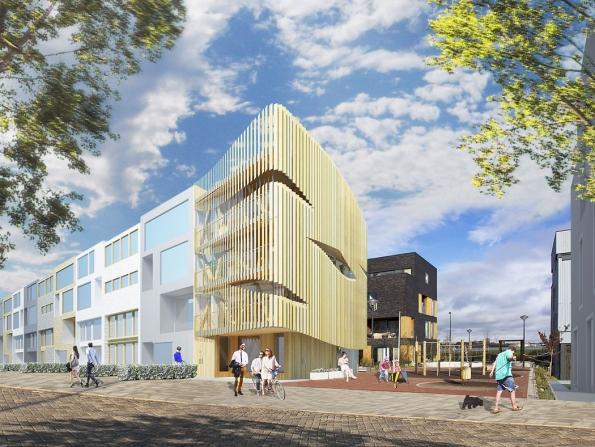 Dřevostavba Freebooter je první rezidenční projekt ateliéru GG-loop v Amsterodamu. Trvalá udržitelnost se pojí s energetickou úsporností, kvalitními přírodními materiály a originálně řešeným interiérem.