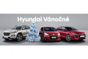 Všichni, kdo navštíví před vánoci prodejce Hyundai a vyberou si z jeho nabídky, získají štědré Hyundai Vánočné ve výši až 30 000 Kč, které mohou využít k dalšímu snížení kupní ceny vybraného vozu. (Foto: Hyundai)