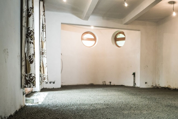 Konečná podoba podlahy z lehkého betonu (Foto: LIAPOR)