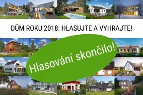Hlasování skončilo / DŮM ROKU 2018: Vyberte nejkrásnější dům a vyhrajte koupelnu nebo kuchyň!