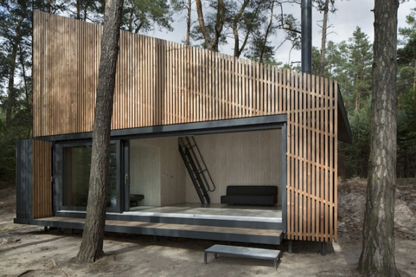 Mezi nejlepší pak porota zařadila také Chatu u jezera (FAM Architekti, 2014).