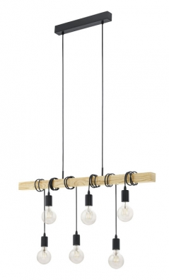 Atraktivní stropní svítidlo Townshend značky Eglo, 6 x 60 W, cena 3590Kč, www.rajsvitidel.cz